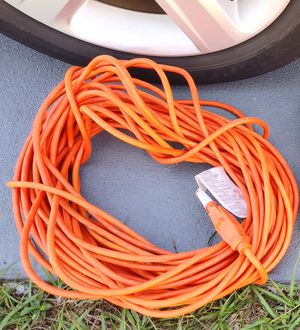 Extension Cord 100 Feet almost new for Sale in Largo, FL