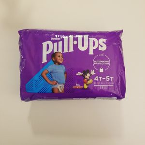 *NEW* Huggies Pull Ups 4T-5T, 17 ct for Sale in Westminster, CA