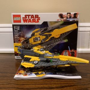 Lego Star Wars (75214) Anakins Ship for Sale in Berkeley Township, NJ