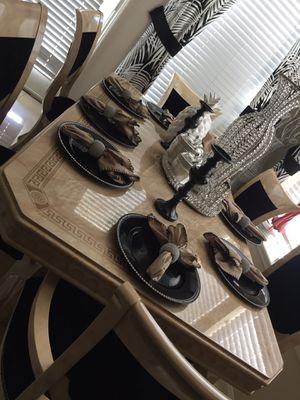 Versace dinning room set for Sale in Rosharon, TX