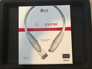 LG Tone Infinim HBS-900 Bluetooth Wireless Stereo Headset for Sale in BRUSHY FORK, WV