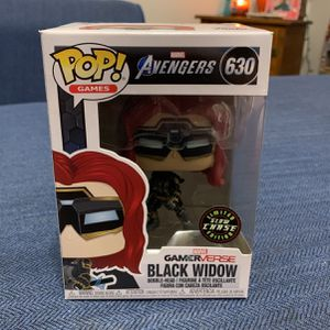 Funko Pop, Black Widow, Chase for Sale in Bucyrus, OH
