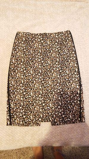 Leopard Print Pencil Skirt for Sale in Rocklin, CA