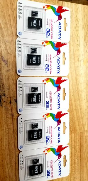 32gb memory card for Sale in Houston, TX