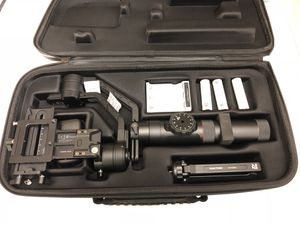 Zhiyun Crane 2 3 Axis Handheld Gimbal Stabilizer w Follow Focus for DS - $425 for Sale in San Francisco, CA