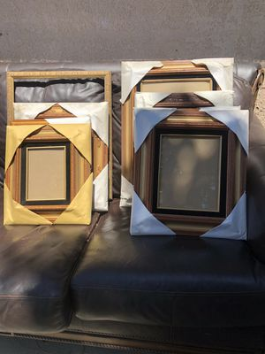 New picture frames some with and without glass. Total of 10 for Sale in Pomona, CA