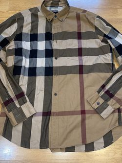 Burberry Brit Men's XL Nova Check Shirt for Sale in Milwaukie,  OR