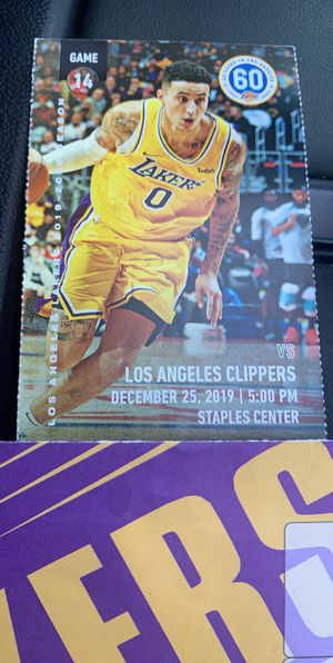 Lakers vs Clippers Christmas Day for Sale in West Los Angeles, CA