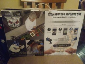 Night owl security cameras for Sale in Hallsville, TX