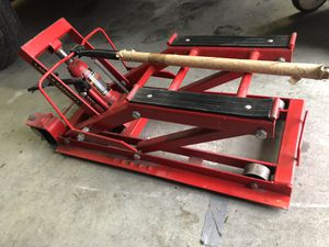 Motorcycle jack for Sale in Jupiter, FL