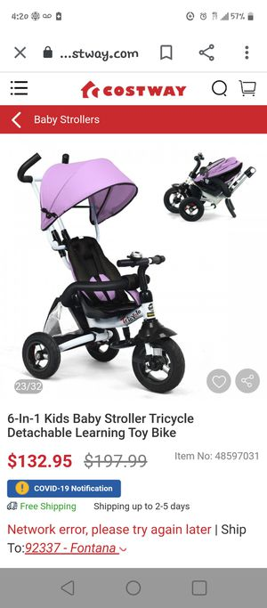 tricycle for Sale in Fontana, CA