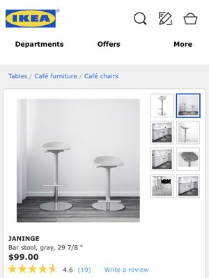 White Bar Stools for Sale in Sammamish, WA