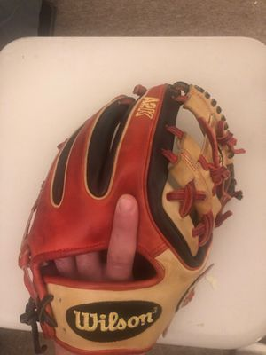 A2k Wilson infield glove baseball for Sale in The Bronx, NY