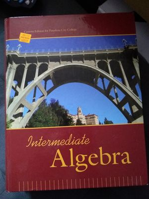Algebra text book for Sale in Santa Fe Springs, CA