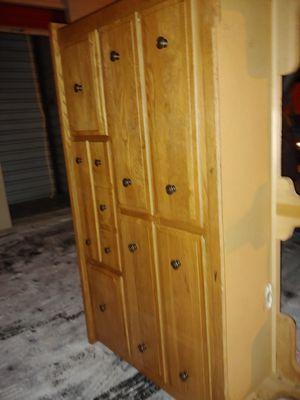 4x7x2 Oak dresser for Sale in Peoria, IL