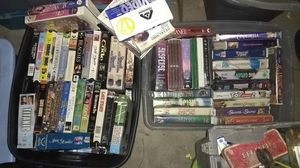 Vhs movies mixed titles for Sale in Bakersfield, CA