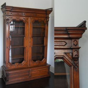 Antique 1800s Eastlake Cabinet for Sale in Seattle, WA