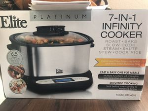 Infinity cooker (crock pot) for Sale in Oklahoma City, OK