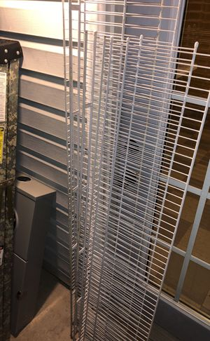 Wire wall mounted shelving for Sale in Asheboro, NC