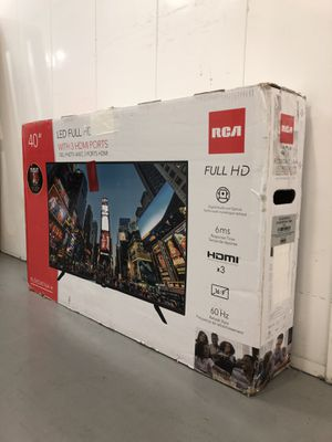RCA 40 INCH HDTV! 3 month guarantee. Not a smart tv for Sale in Phoenix, AZ