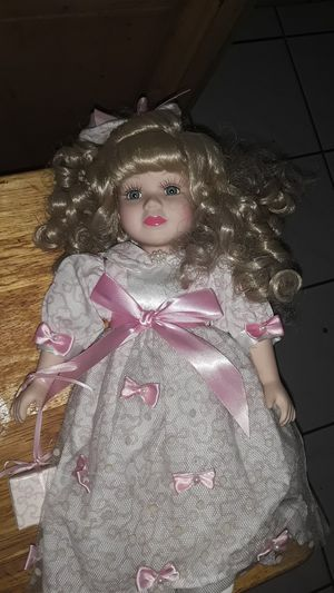 Antique porcelain doll for Sale in Fontana, CA