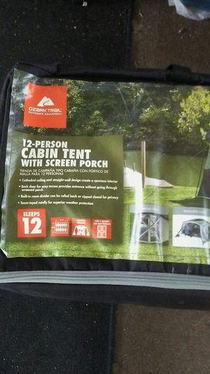 12 person tent for Sale in Huntington Beach, CA