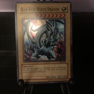 Yugioh Card Blue-Eyes White Dragon SKE-001 Holo for Sale in Las Vegas, NV