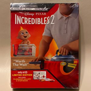 *NEW* Disney/Pixar The Incredibles 2 - 4 HD/BluRay for Sale in Fair Oaks, CA