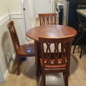 OAK WOOD 3 TABLE SET! for Sale in Washington, DC