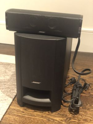 Bose CineMate 15 Home Theater Speaker System, Black for Sale in GREAT NCK PLZ, NY