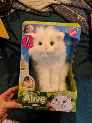 Wowwee Alive Kitten interactive stuffed animal for Sale in Vancouver, WA