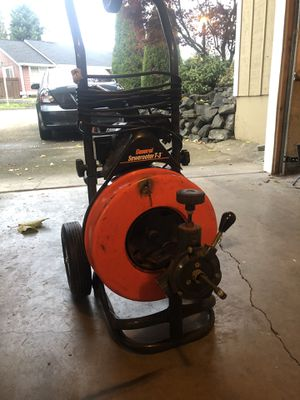 General pipe cleaners T3 Sewerooter for Sale in Tacoma, WA