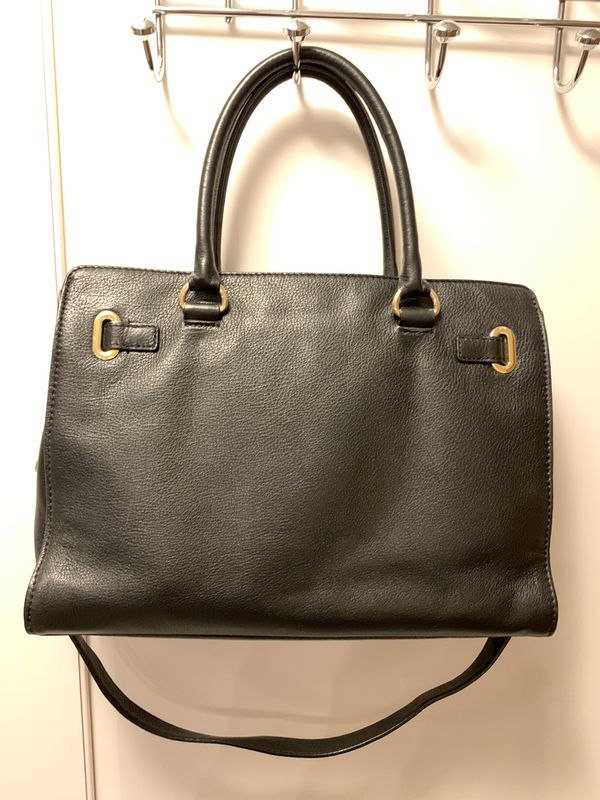 Michael Kors leather bag/satchel