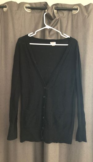 Mossimo Black Cardigan size small for Sale in Milwaukee, WI