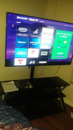 60' Inch Roku Smart TV With Stand for Sale in Columbia, MO