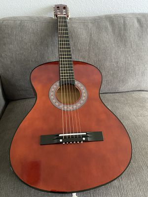 7/8 Size Mocha Guitar with Extra Strings, Cover, Pick, Strap $75 Firm for Sale in Arlington, TX