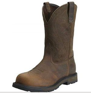 NEW Size 9.5 Men Groundbreaker Pull-on Steel Toe Safety Work Boot for Sale in San Jose, CA