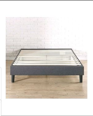 Queen Bed Frame, No Bedpost for Sale in Miami, FL