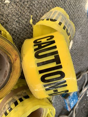 Caution tape for Sale in Pomona, CA