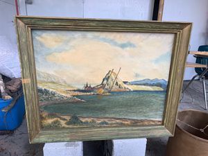 """1960 Croatian Island painting """"39"""" for Sale in Apopka, FL"""