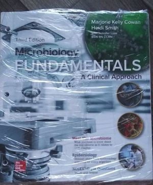 Microbiology fundamentals s clinical approach with connect access for Sale in Los Angeles, CA