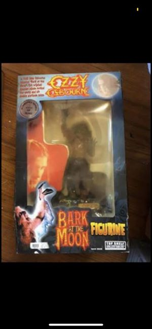 "RARE Ozzy ""Bark at the Moon"" Figurine in Box for Sale in Metairie, LA"