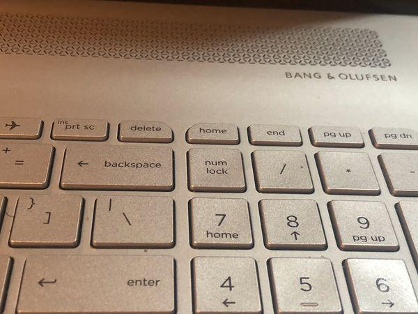 HP Envy 17' Notebook