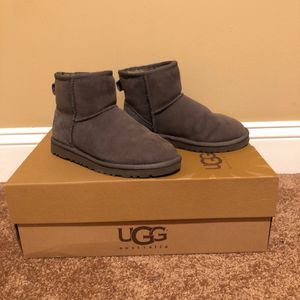 Used, Classic Gray Mini Uggs for Sale for sale  Jackson Township, NJ