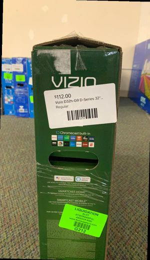 "New Vizio 32"" inch D-Series TV! W/ Warranty open box CM for Sale in Dallas, TX"