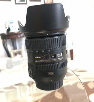 Nikon AF-S DX NIKKOR 16-85mm F3.5-5.6G ED VR II for Sale in Miami, FL