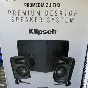 Klipsch ProMedia 2.1 THX Certified Computer Speaker System for Sale in Rancho Cucamonga, CA