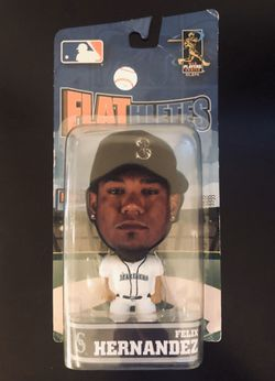 """Felix Hernandez Seattle Mariners MLB Baseball Flathletes Action Figure Toy 5"""" Forever Collectibles - BRAND NEW! for Sale in Carmichael,  CA"""