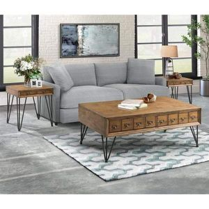 Coffee table set new in 🚚 not assembled for Sale in Dallas, TX
