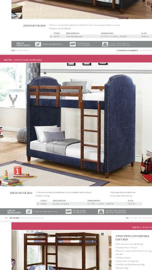 Twin/twin bunk bed for Sale in Brooklyn, NY